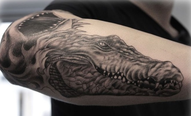 Aligator, Crocodile Tattoo - Meanings, Symbolism, Designs and Ideas