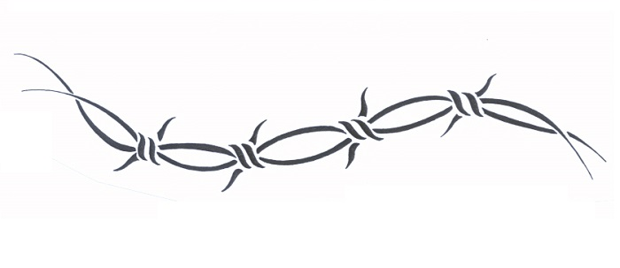 Barbed Wire Tattoo - Meanings, Symbolism, Designs and Ideas