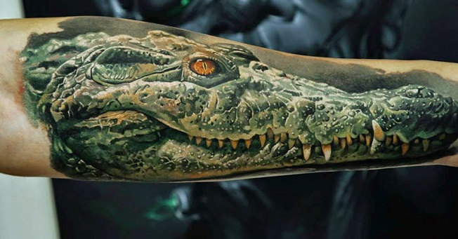 Alligator, Crocodile Tattoo - Meanings, Symbolism, Designs and Ideas