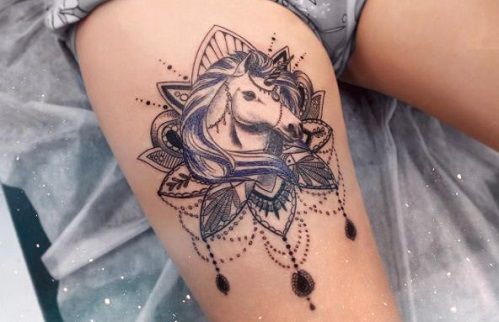 Unicorn Tattoo - Meaning, Symbolism, Designs and Ideas