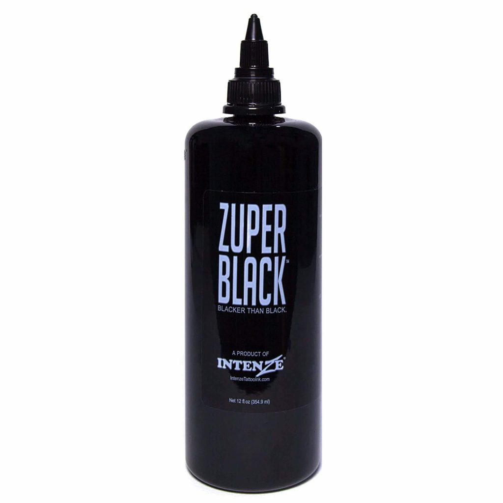 Intenze Professional Ink Zuper Black