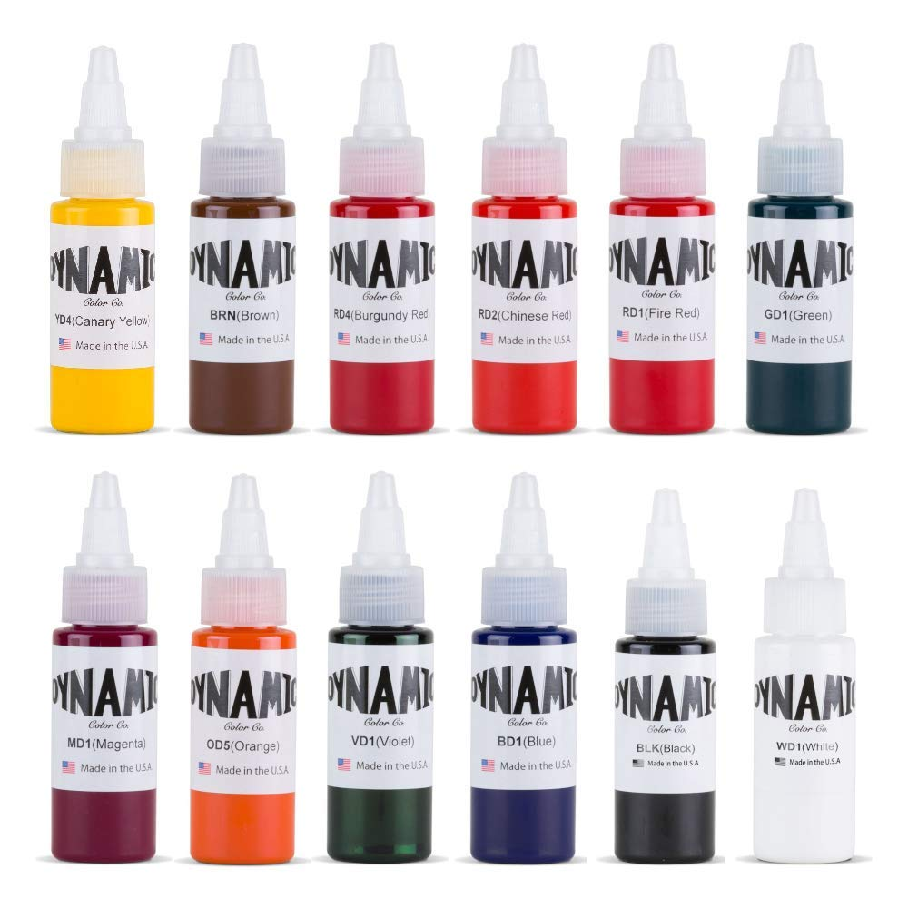 1. Dynamic Color Tattoo Ink: Best Value For Money