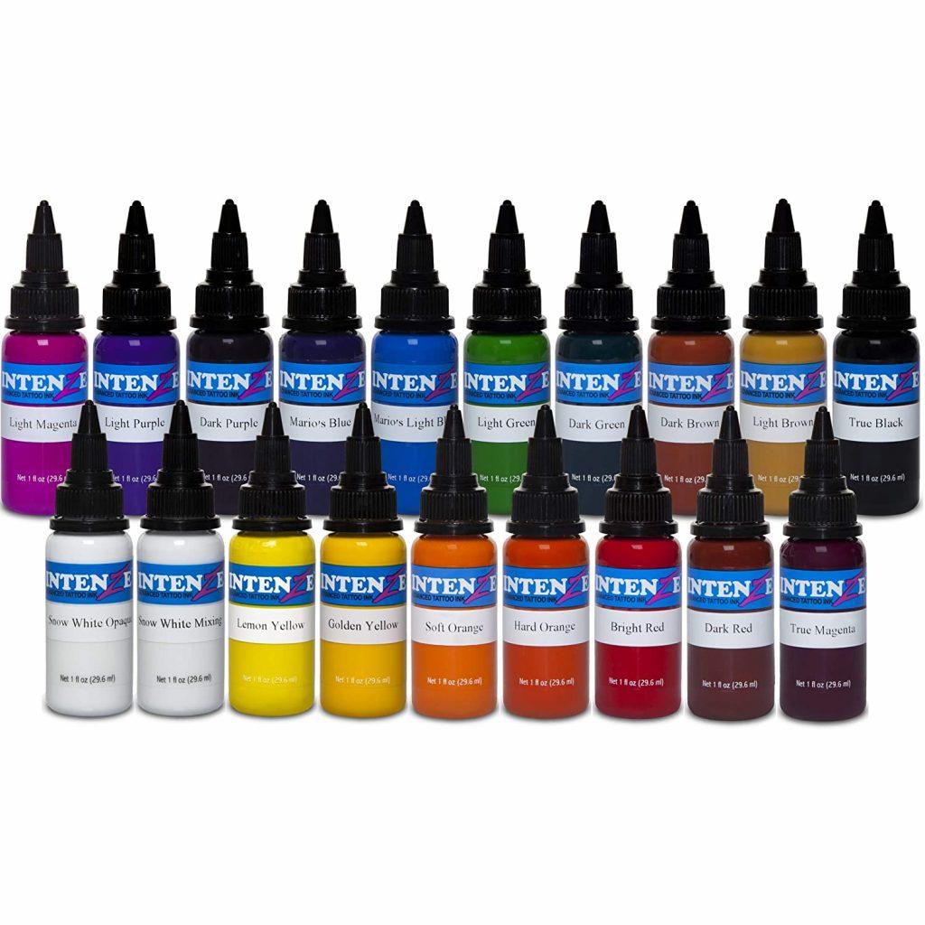 Intenze Color Ink Set